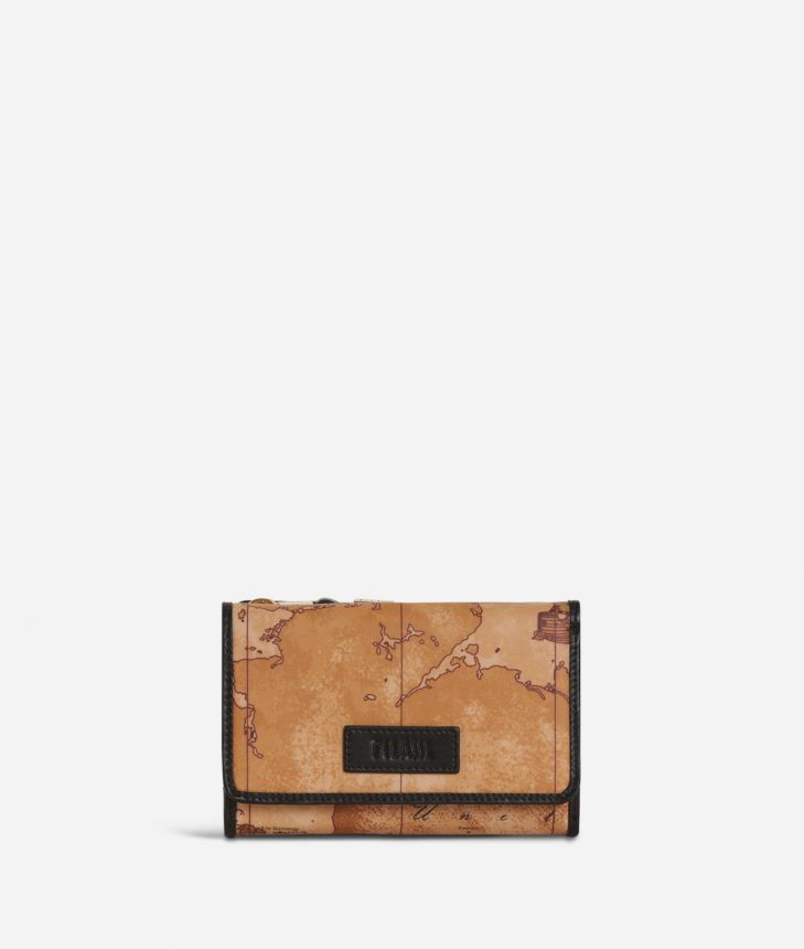 Soft Wood Bifolder Wallet Black,front