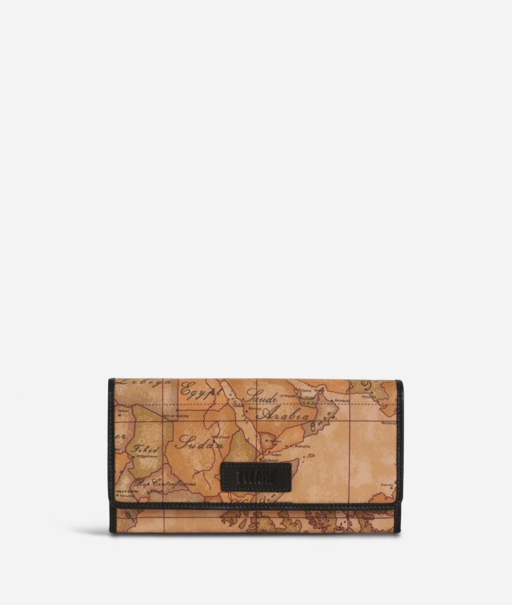 Soft Wood Wallet Black,front