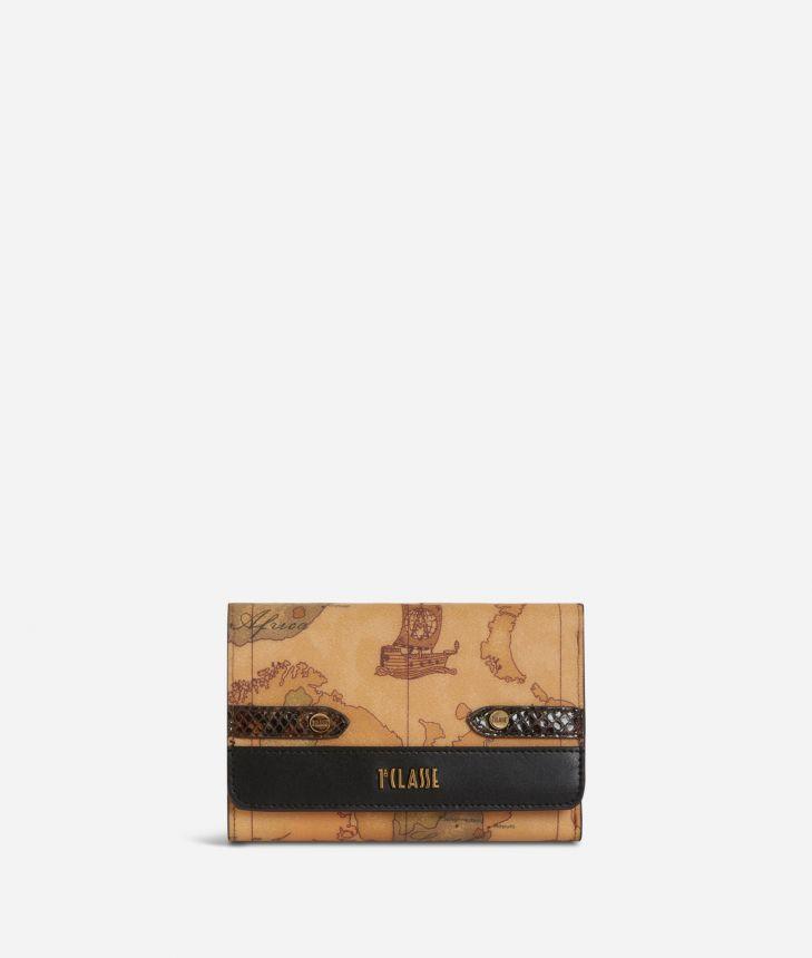 Fantasy Geo Bifolder Wallet Black,front
