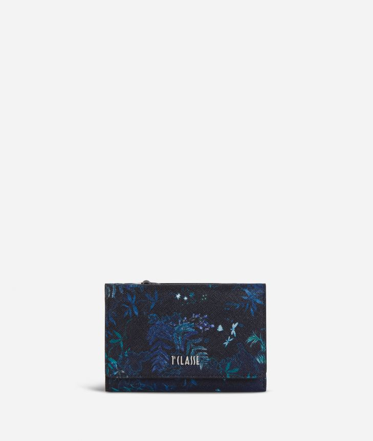 Magic Forest Bifolder Wallet Blueberry,front