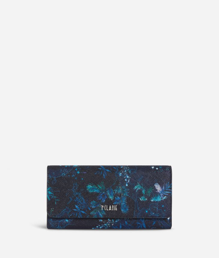 Magic Forest Wallet Blueberry,front