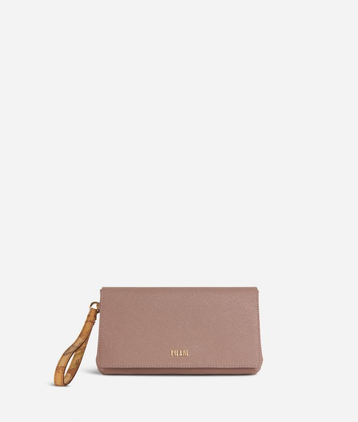Sky City Clutch Boreal Pink,front