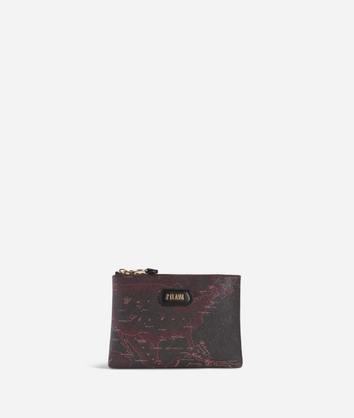 Geo Rosewood Pouch Cabernet,front