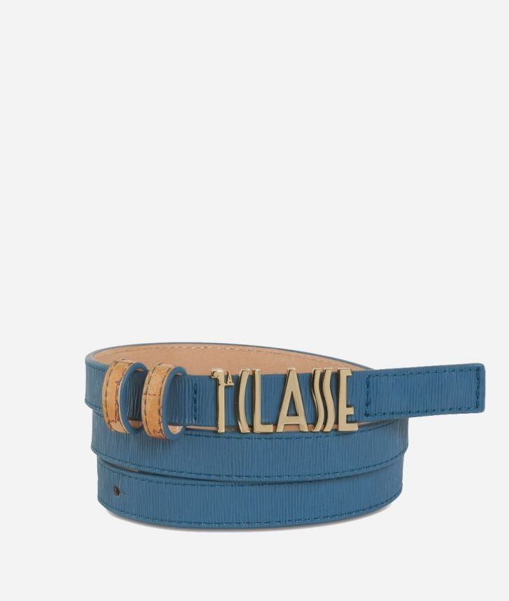 Winter Smile Belt Blue,front