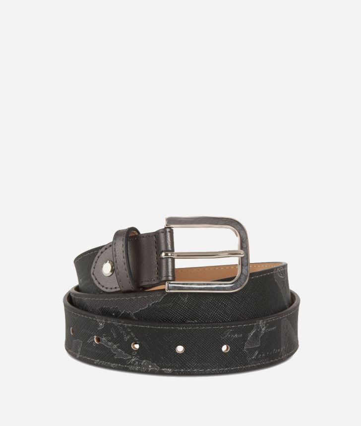 Geo Silver Night Belt Black,front