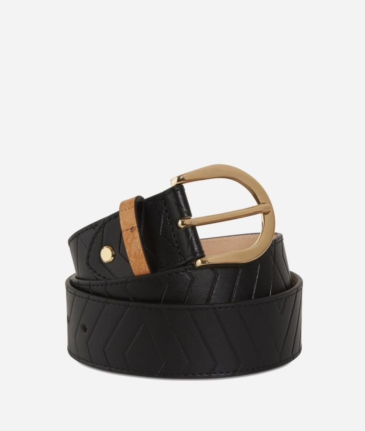 Starlight Line Belt Black,front