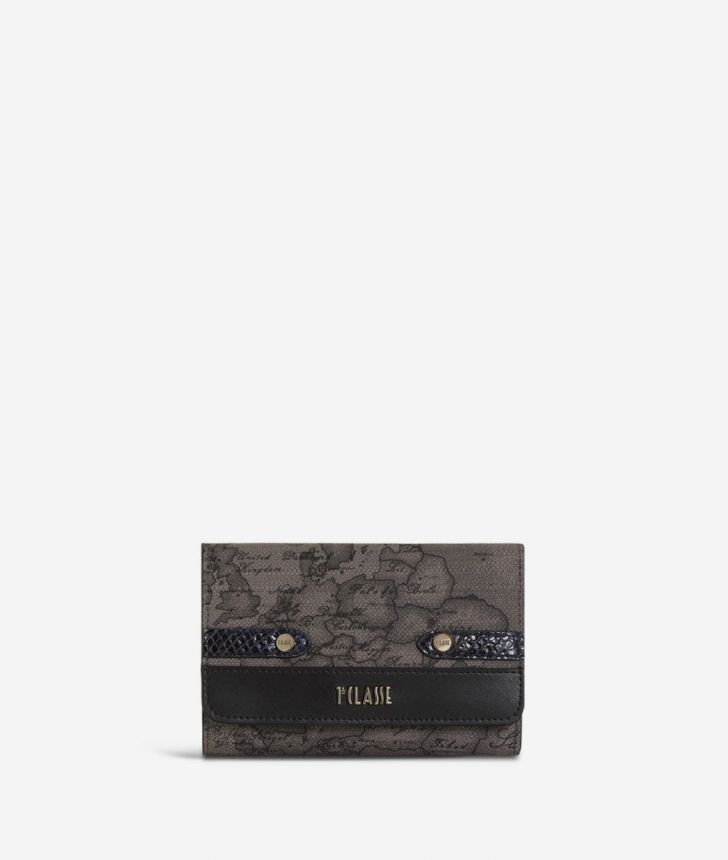 Fantasy Dark Bifolder Wallet Black,front