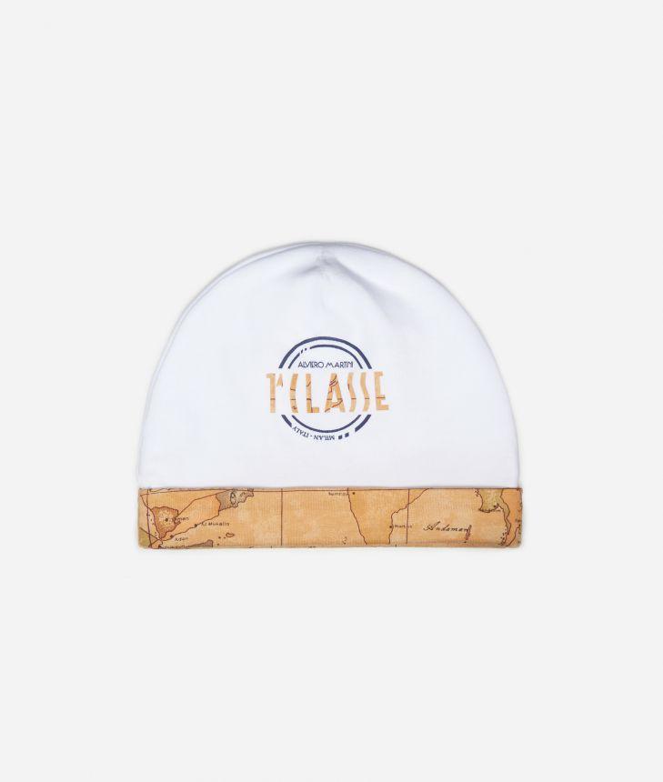 Cappellino con maxi logo e dettagli Geo Classic,front