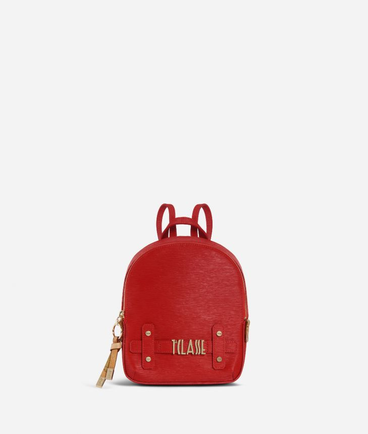 Voyage Smile Mini Backpack Red,front