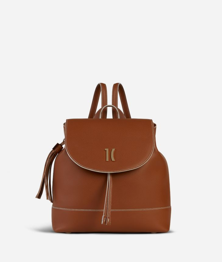 Praline Backpack Brown,front