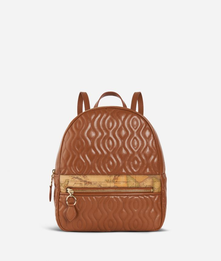 Dune Backpack Brown,front