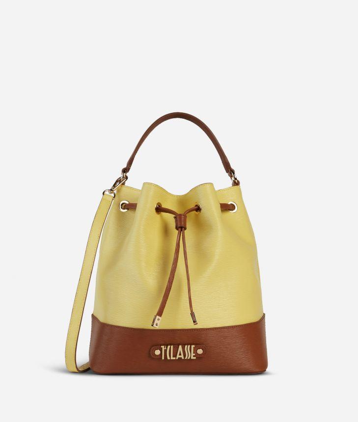 Jour Bag Bucket Bag Yellow,front