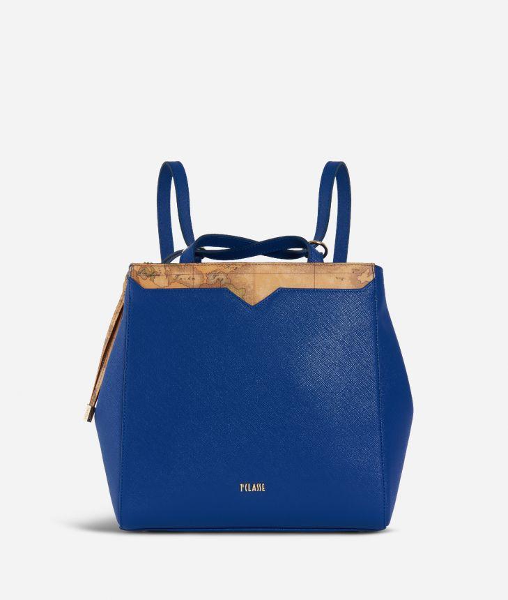 Medina City Backpack Blue,front