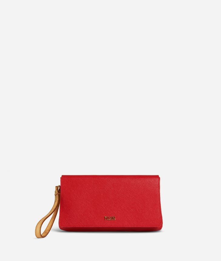 Medina City Clutch Red,front
