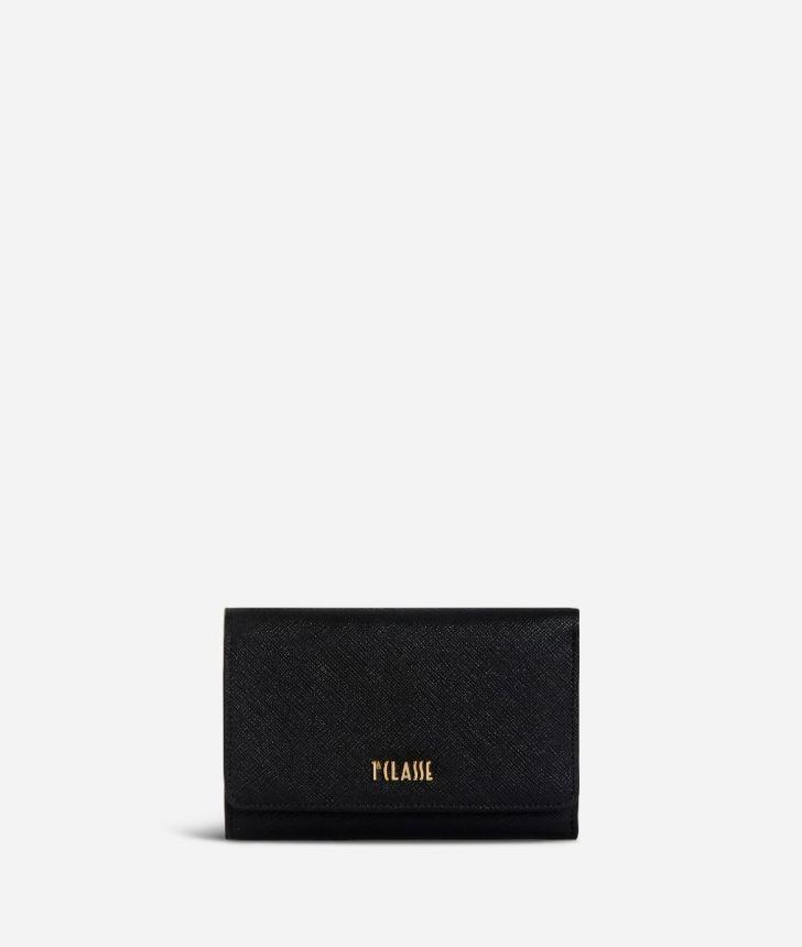 Medina City Bifolder Wallet Black,front