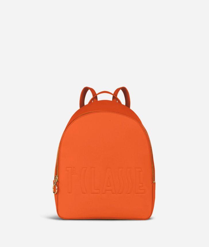 Summer Pop Backpack Orange,front