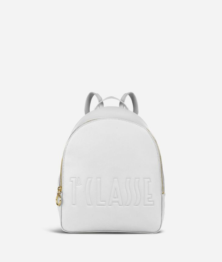 Summer Pop Backpack White,front