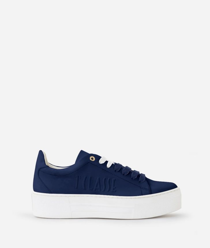 Summer Pop Sneakers Blu,front