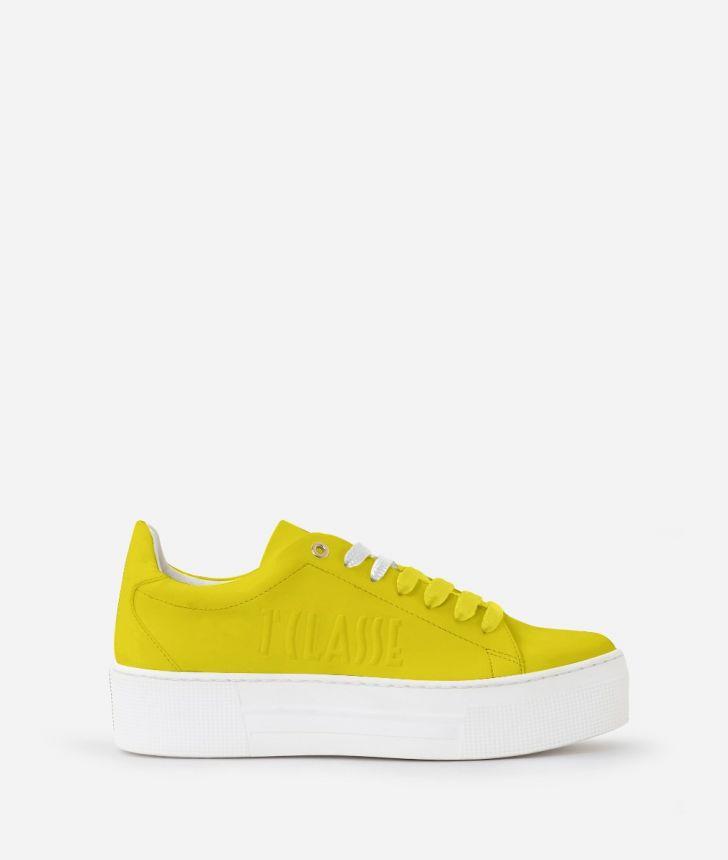 Summer Pop Sneakers Gialle,front