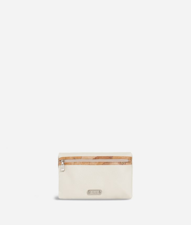 Make-up bag trimmed in Geo Classic fabric,front