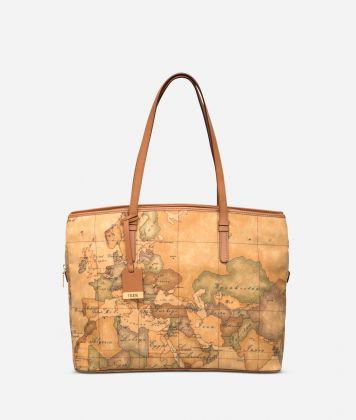 Geo Classic Large business shoulder bag