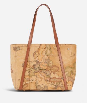 Geo Classic Medium shopping bag with studs