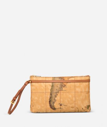 Geo Classic Large wristlet clutch