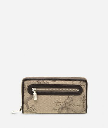 Geo Tortora Large zipped wallet