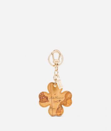 Geo Classic Four leaf clover key ring