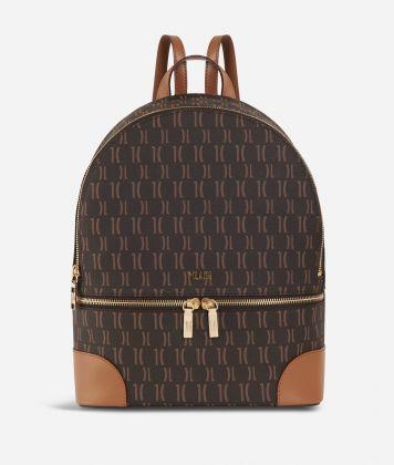 Monogram Big Backpack Dark Buff