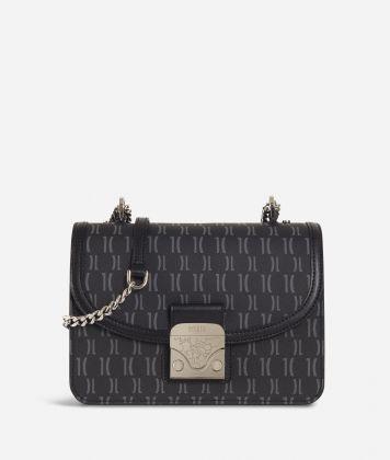 Monogram Crossbody Bag Black