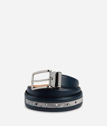 Dark Mood Leather and Geo Dark belt