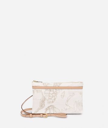 Geo White Medium crossbody bag