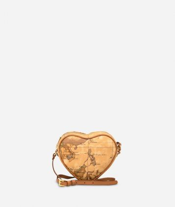 Geo Classic Heart mini crossbody bag