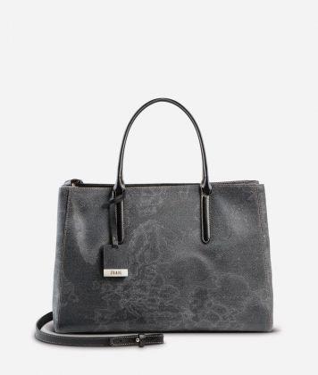 Geo Black Medium handbag