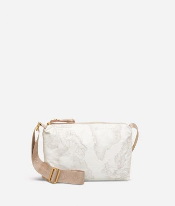 Geo Soft White Small crossbody bag