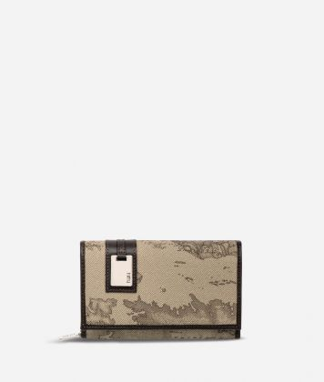 Geo Tortora Medium wallet with pocket