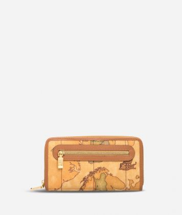Geo Classic Large zipped wallet