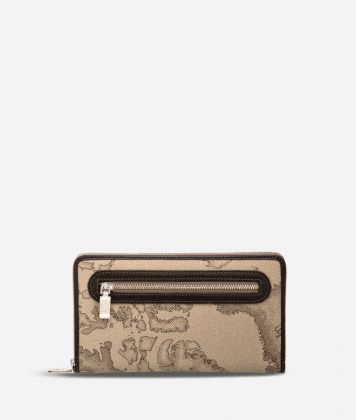 Geo Tortora Large wallet with zip pocket