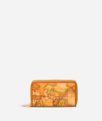 Geo Classic Double zipped wallet