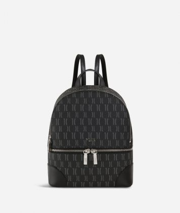 Monogram Mini Backpack Black