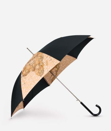 Automatic umbrella in black-Geo Classic fabric