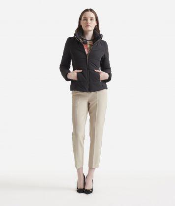 Basic padded jacket Black
