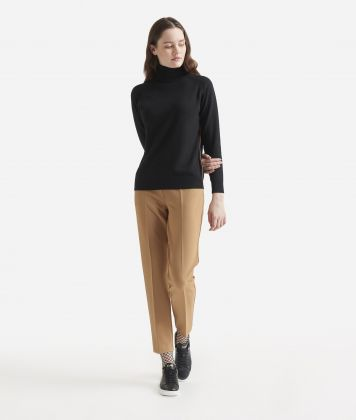 Cachemire blend turtleneck Black