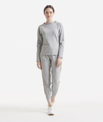 Fleece sweatshirt Grey
