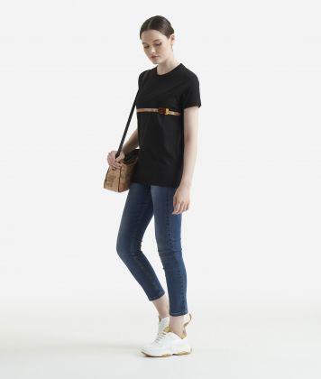 Oversize t-shirt Black
