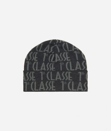 All-over Logo BeanieGrey