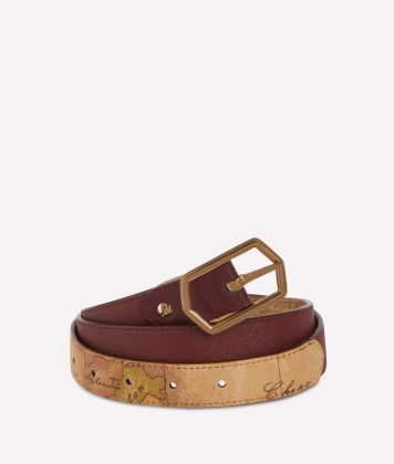 Sky City Reversible belt Cabernet