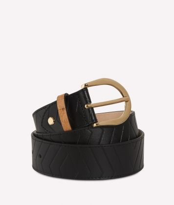 Starlight Line Belt Black
