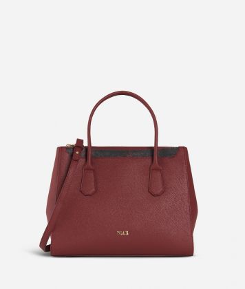 Sky City Medium Handbag Geo Classic Cabernet